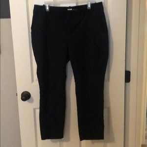 Black trousers size 14